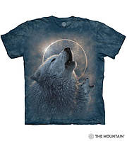Футболка The Mountain - Wolf Eclipse