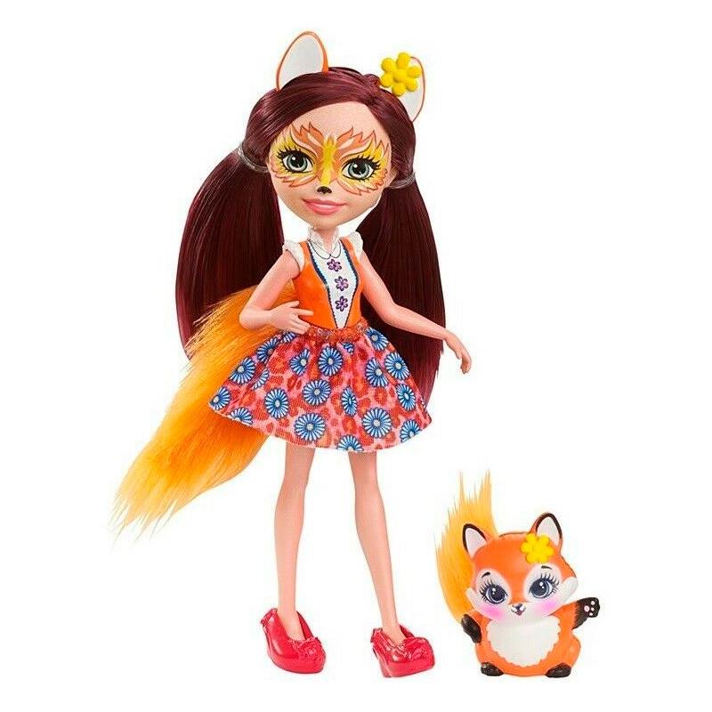 """Лялька Enchantimals """"Лисичка Фелісіті"""" оновл."""