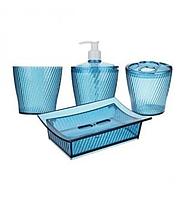 Набор 4 предмета аксессуаров для ванной комнаты Irak Plastik BA-280