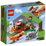 Конструктор LEGO Minecraft Приключения в тайге 74 детали (21162), фото 5