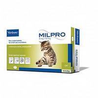 Таблетка Milpro для котів і кошенят від 0,5 кг до 2 кг