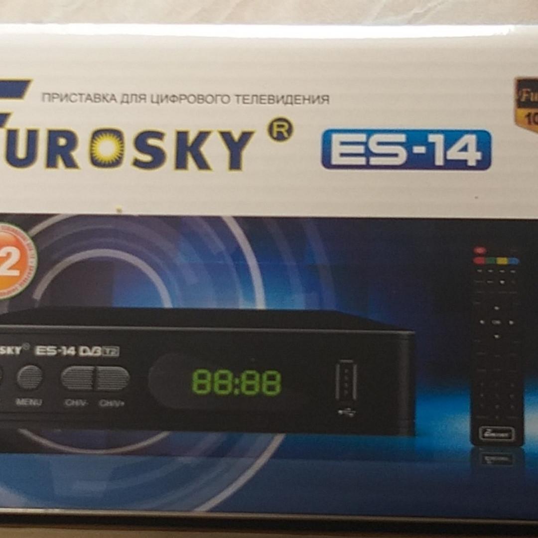 Тюнер для Т2 EUROSKY ES-14 DVB-T 2