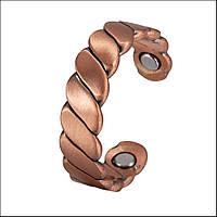 Кольцо медное Qantum с магнитами., фото 1