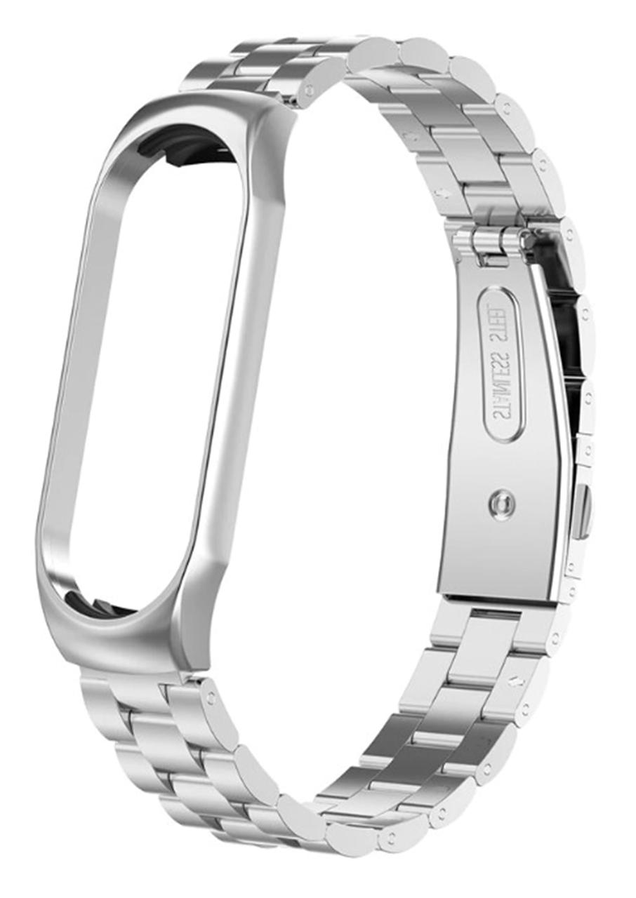 Bead Design Bracelet — Xiaomi Mi Band 3 / 4(Silver)
