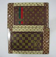 Автомобильный коврик липучка Louis Vuitton (210x125)
