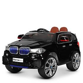 Дитячий електромобіль BMW (2 мотора за 35W, MP4) Джип Bambi M 2762(MP4)EBLRS-2 Чорний