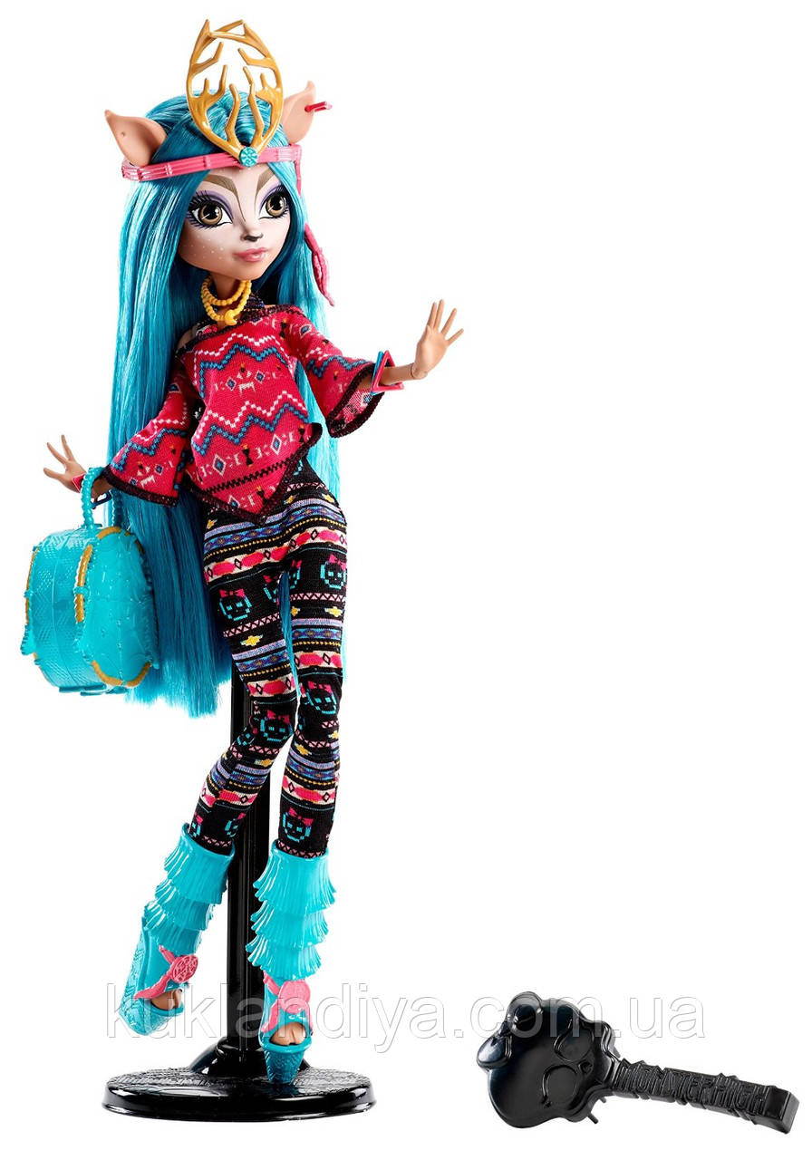 Кукла Монстер Хай Иси Даунденсер - Monster High Brand-Boo Students Isi Dawndancer DJR52