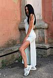 Женское платье-майка с разрезами по бокам, фото 2