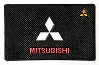Автомобильный коврик липучка Mitsubishi (185x120)