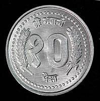 Монета Непала 10 рупий 1994 г., фото 1