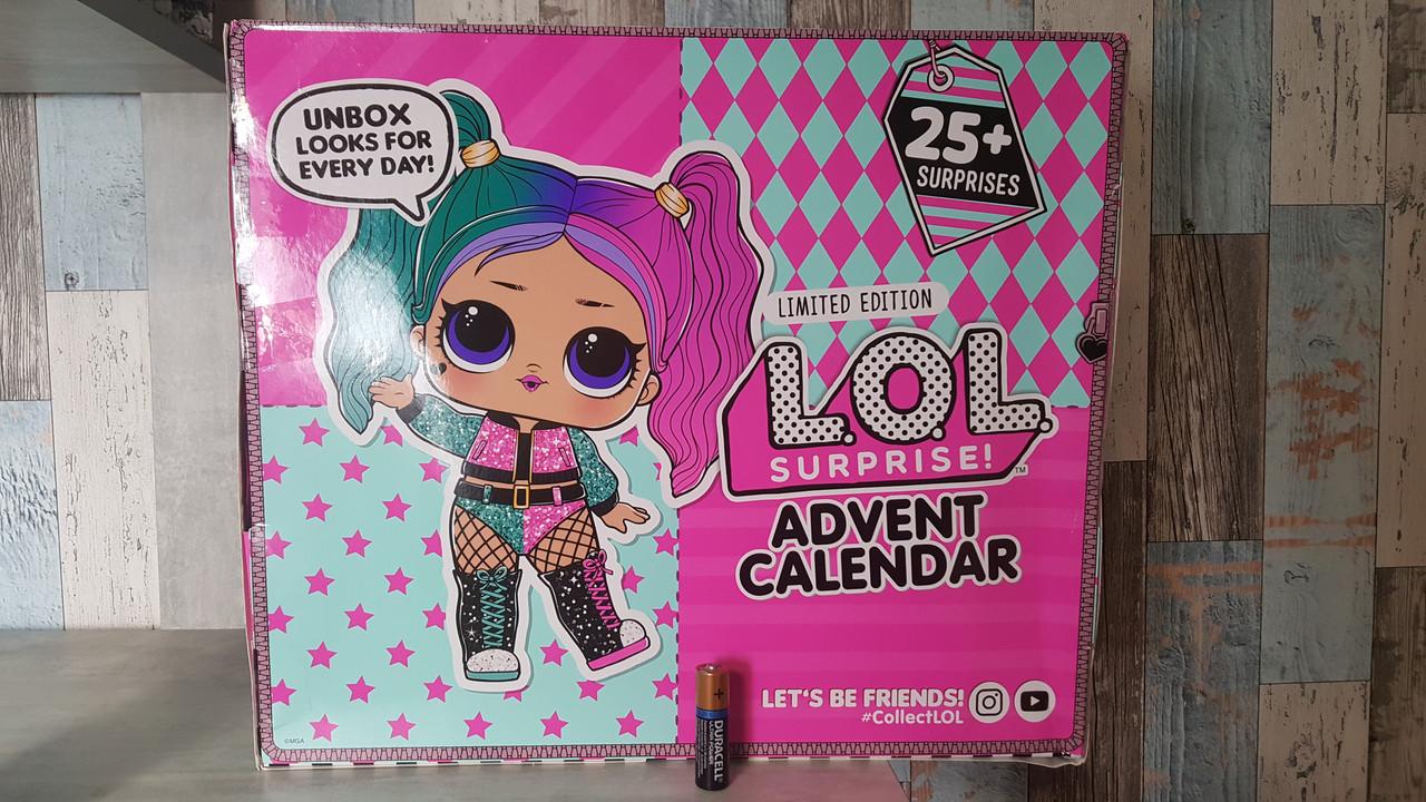 Лол адвент календарь 2020 год! 25 сюрпризов! Модный Лук, L.O.L. Surprise! #OOTD Outfit of The Day, MGA