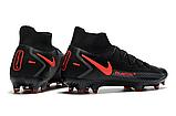 Бутсы Nike Phantom GT Elite DF FG black/orange, фото 3