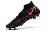 Бутсы Nike Phantom GT Elite DF FG black/orange, фото 4