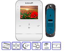 Комплект домофонной системы  Intercom IM-01 + Intercom IM-10