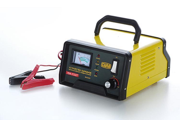 Зарядное устройство для авто 10А, 6-12В, до 120Ah (подходит на свинцово-кислотные АКБ) (стрелочный индикатор)
