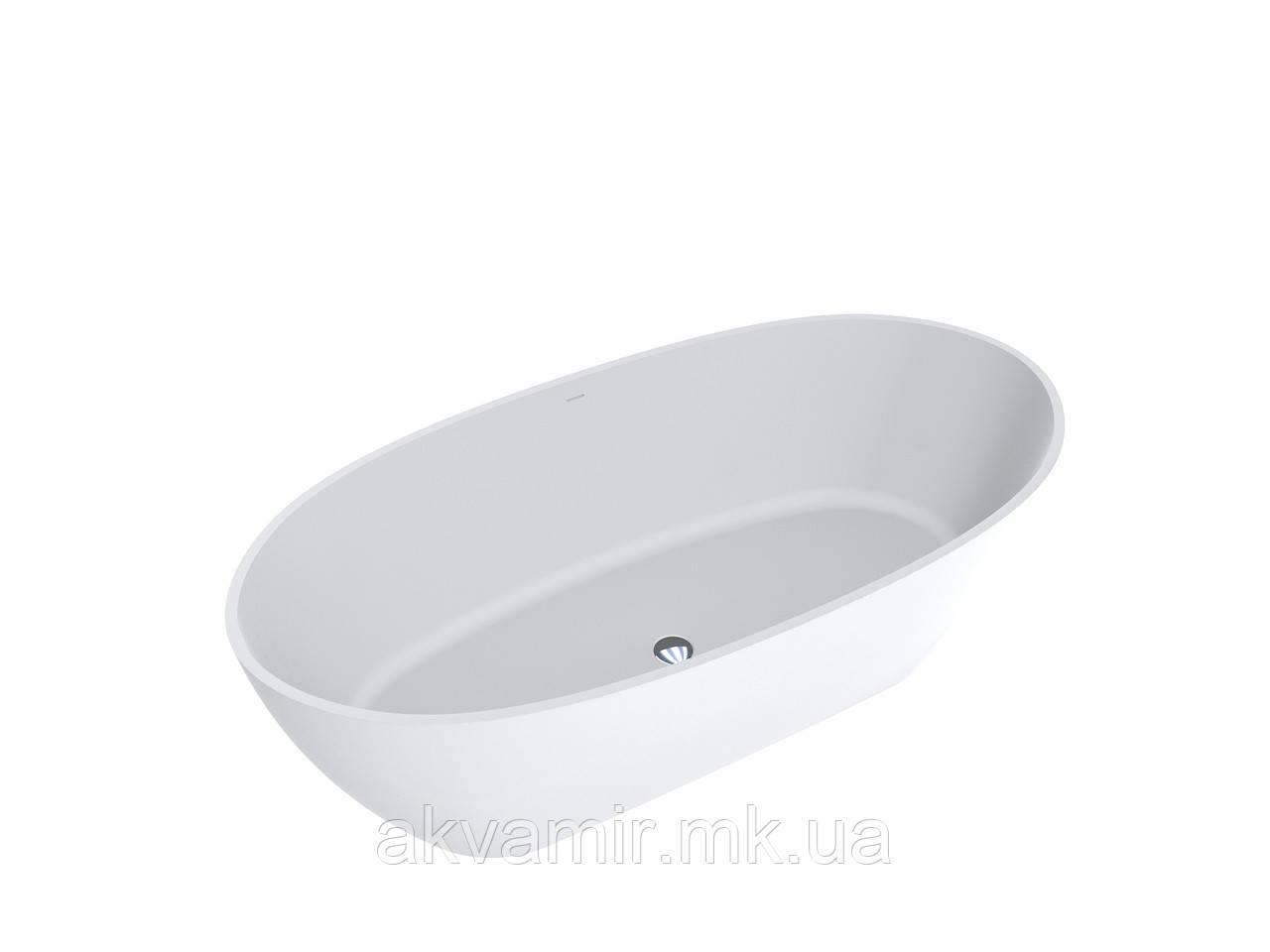 Ванна MIRAGGIO ESTELLA матовая с литого мрамора