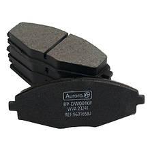 Колодка дискового тормоза передняя 13' Daewoo Lanos, Sens, Matiz 0.8L, Chery CHERY QQ (S11) 0.8L AURORA