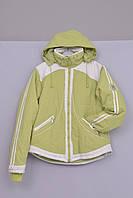 Л-201 Куртка зимняя  для девочки рост 164 cалатовая, фото 1