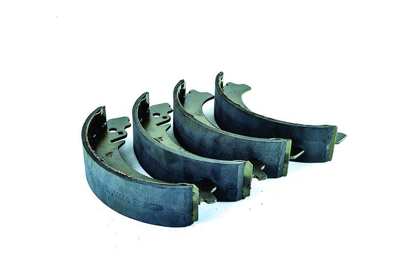 Колодки барабанного гальма ВАЗ 2101, 21011, 2102, 2104, 2105, 2107, 2121, 2123 AURORA, Польща