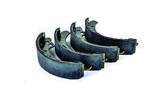 Колодки барабанного тормоза ВАЗ 2108, 2109, 21099, 2110, 2111, 2112, 2113, 2114, 2115( компл. 4 шт.) AURORA