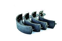 Колодки барабанного тормоза ГАЗ 3302, 3110, 2705, 2217, 31105, 2752, 3221 (комплект 4 шт.) AURORA, Польша