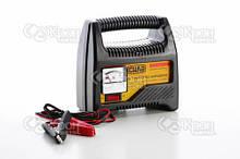 Зарядний пристрій для авто 6А, 12В, до 80Ah (підходить на свинцево-кислотні АКБ) (стрілочний індикатор) СИЛА