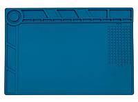 Килимок настільний силіконовий з отворами під мікросхеми S210 size 250*350