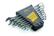 Набір ключів рожково - накидних Стандарт 8-19мм (8 шт.) СИЛА