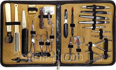 Маникюрный набор Kellermann Семейный 23 предмета 9410 Черный