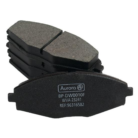 Колодка дискового тормоза передняя CHEVROLET Aveo (комплект 4 шт) AURORA