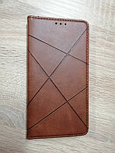 Чехол-книжка Samsung A01/M01 BUSINESS Brown