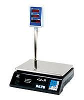 Весы торговые со стойкой VITEK до 40 кг электронные , фото 1