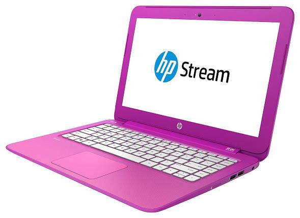 Ноутбук HP Stream 13-c082no-Intel Celeron N2840-2.1GHz-2Gb-DDR3-32Gb-SSD-W13.3-Web-(B)- Б/У, фото 2