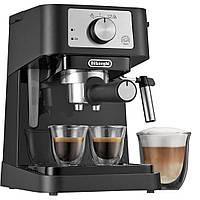 Рожковая кофеварка эспрессо Delonghi EC 260.BK