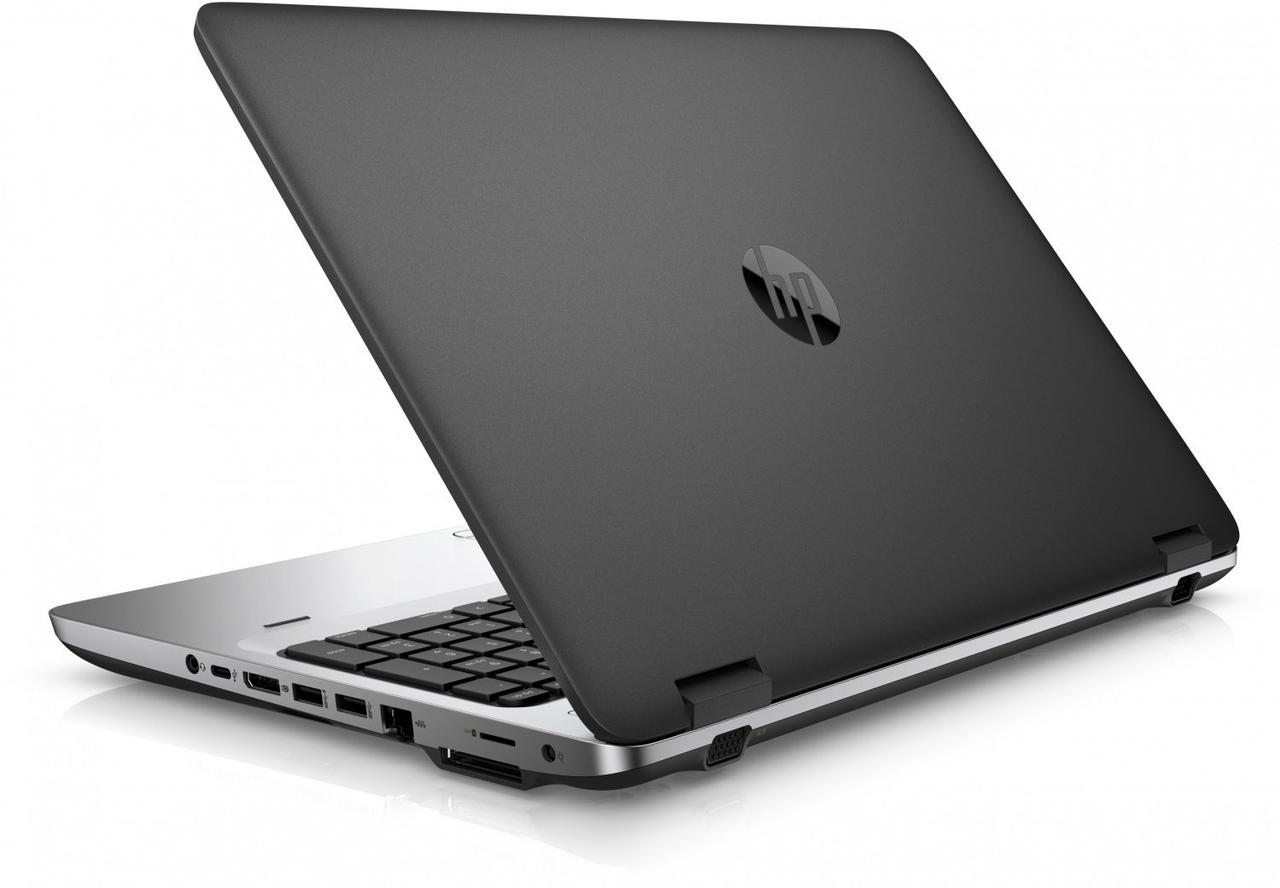 Ноутбук HP ProBook 650 G2- Intel-Core-i5-6200U-2,40GHz-4Gb-DDR4-500Gb-HDD-W15.6-DVD-R-Web-(С)- Б/У
