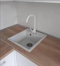 Кухонная мойка гранитная узкая bulbul Cube. Палитра расцветок