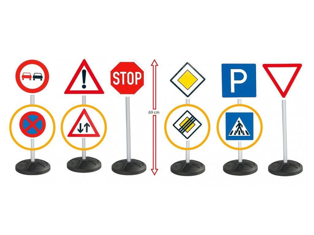 Дорожные знаки игровой набор Big 1198