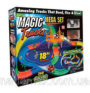 Гоночная трасса Magic Traks 220 деталей, фото 2