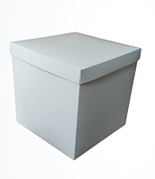 Подарункова збірна коробка Біла, 220*220*220 мм