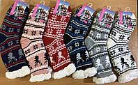 Женские зимние меховые носки оптом
