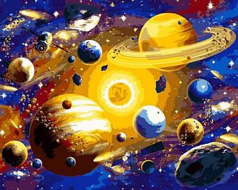 Картина по номерам Солнечная система Babylon 40 х 50 см (VP1312)