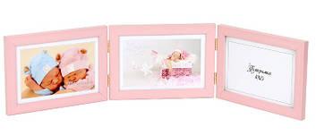 Фотоколаж 10х15 №9441 3в1 рожевий