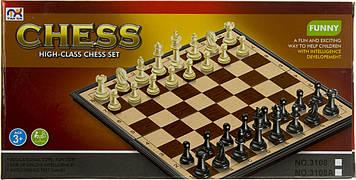 Шахи магнітні,у кор-ці 18,1х9,2х3см №3108(72)(144) КІ
