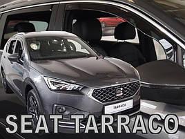 Дефлекторы окон (ветровики) Seat Tarraco 2018-> 5D (вставные, кт - 4 шт)