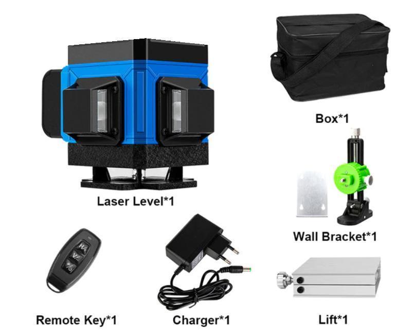 Для полов и стяжек》Лазерный нивелир/уровень 3DN VOKPRO
