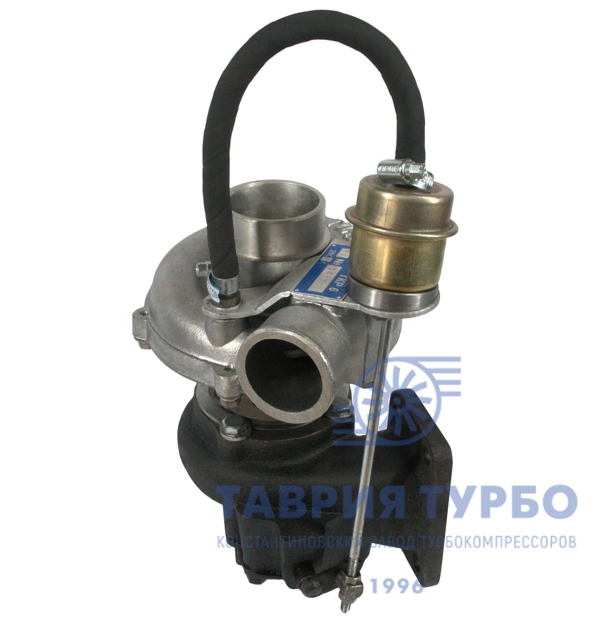 Турбокомпрессор ТКР 6.1 - 07.1 Евро 2, Турбина на Автомобили ЗИЛ, ОТЗ; Двигатель Д 245.9Е2