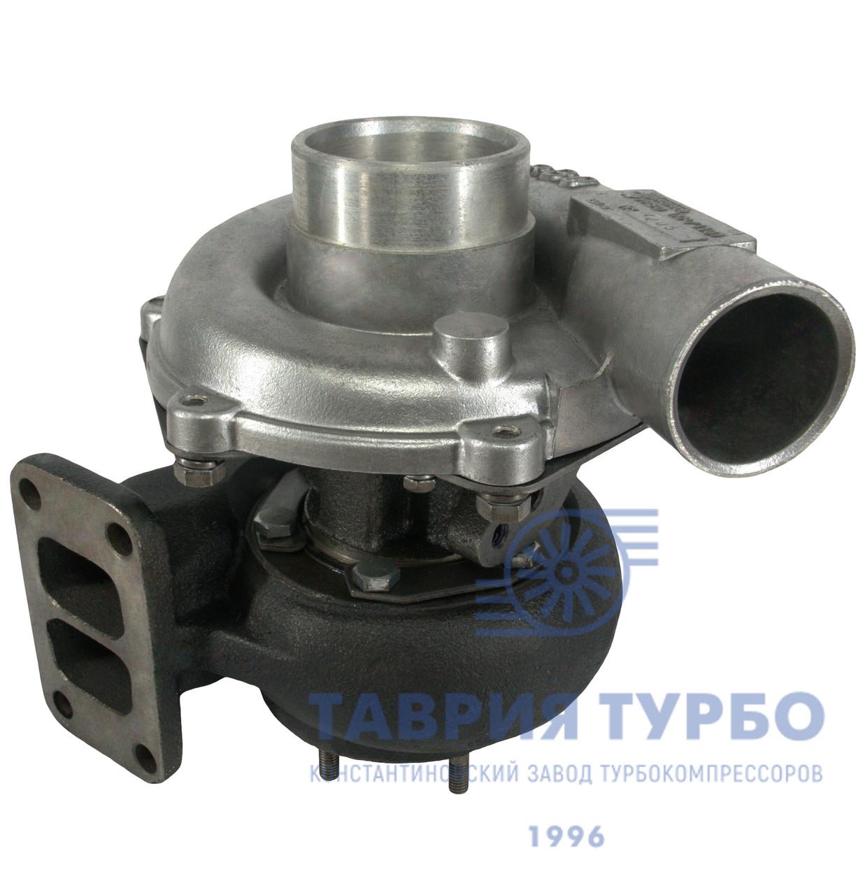 Турбокомпрессор ТКР 7TT-01.05 правый, Турбина на КамАЗ, ПАЗ, НефАЗ; Двигатель КамАЗ 740.30, -740.31, -740.50