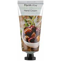 Крем для рук с экстрактом оливы FarmStay Visible Difference Hand Cream Olive 100 мл, фото 2