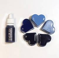 """Пигмент для эпоксидной смолы Resin Art """"Синий"""", 10 мл, жидкий РезинАрт"""