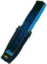 Чехол для удилищ с 2 боковыми карманами Lineaeffe 150х25 см Blue